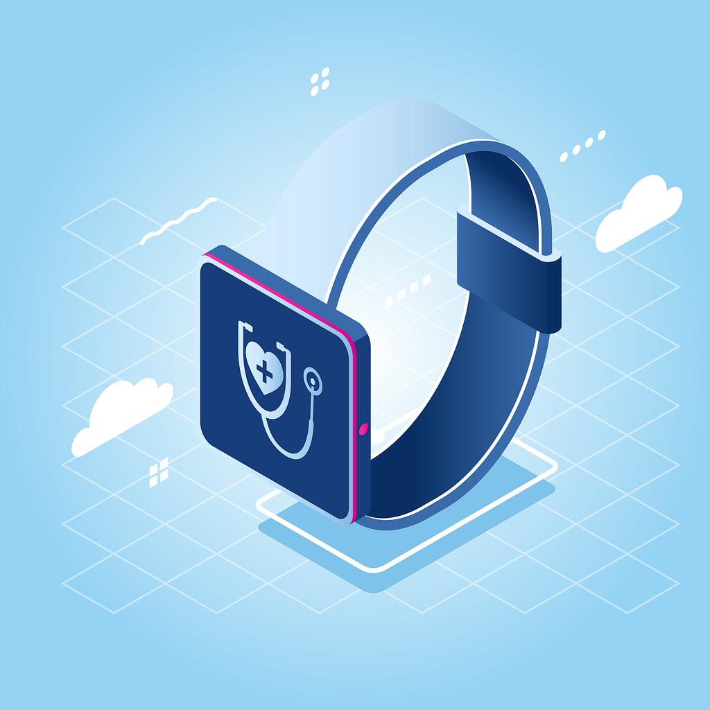 Custom healthcare mobile application