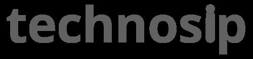 Technosip Logo Medium Black